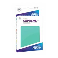 Bustine Standard Ultimate Guard Supreme UX Matte 80 (TURCHESE)