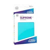 Bustine Standard Ultimate Guard Supreme UX Matte 80 (ACQUAMARINA)