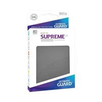 Bustine Standard Ultimate Guard Supreme UX Matte 80 (GRIGIO SCURO)