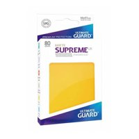 Bustine Standard Ultimate Guard Supreme UX Matte 80 (GIALLO)