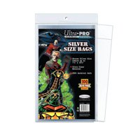 Buste Fumetti: Ultra Pro Silver Size Not Resealable (100)
