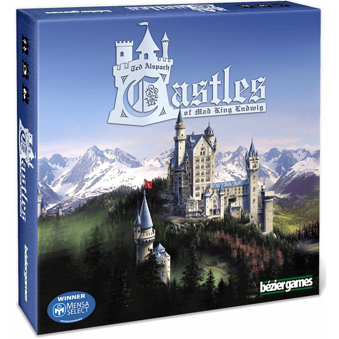 Copertina di Castles of Mad King Ludwig
