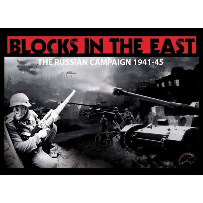 Copertina di Blocks in the East