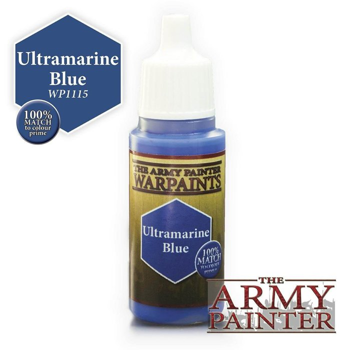 Copertina di Warpaints - Ultramarine Blue (18ml)