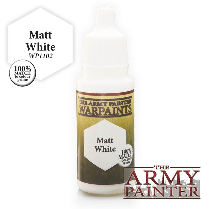 Copertina di Warpaints - Matt White (18ml)