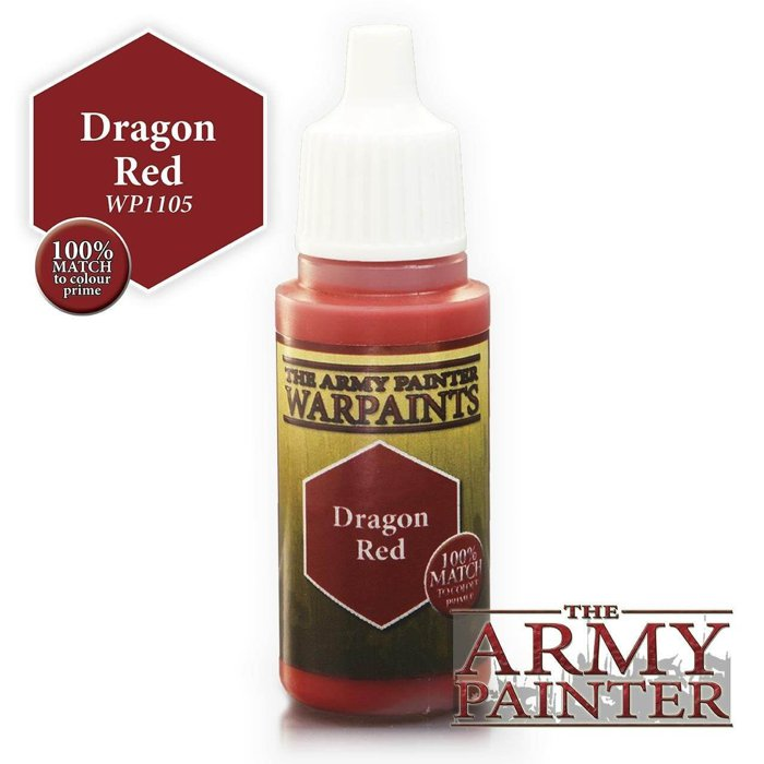 Copertina di Warpaints - Dragon Red (18ml)