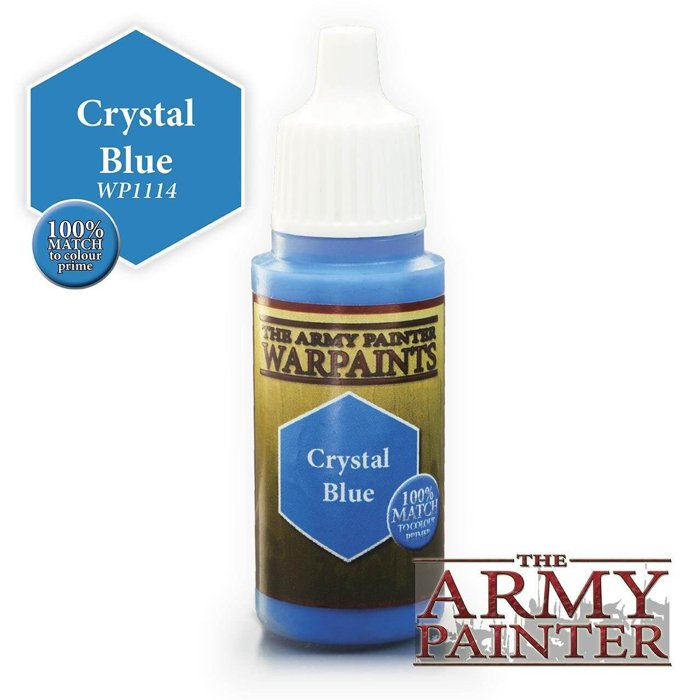 Copertina di Warpaints - Crystal Blue (18ml)