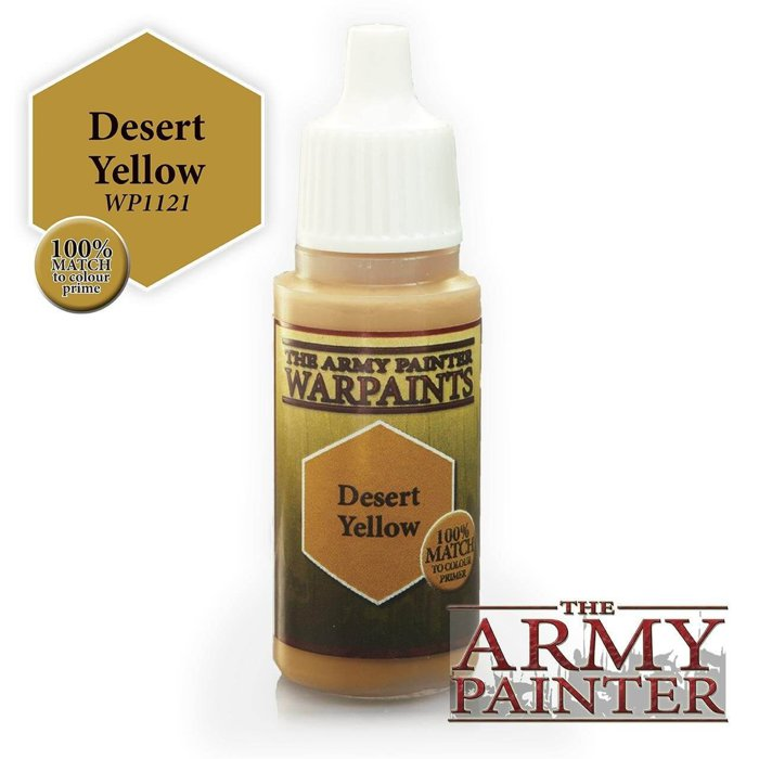 Copertina di Warpaints - Desert Yellow  (18ml)