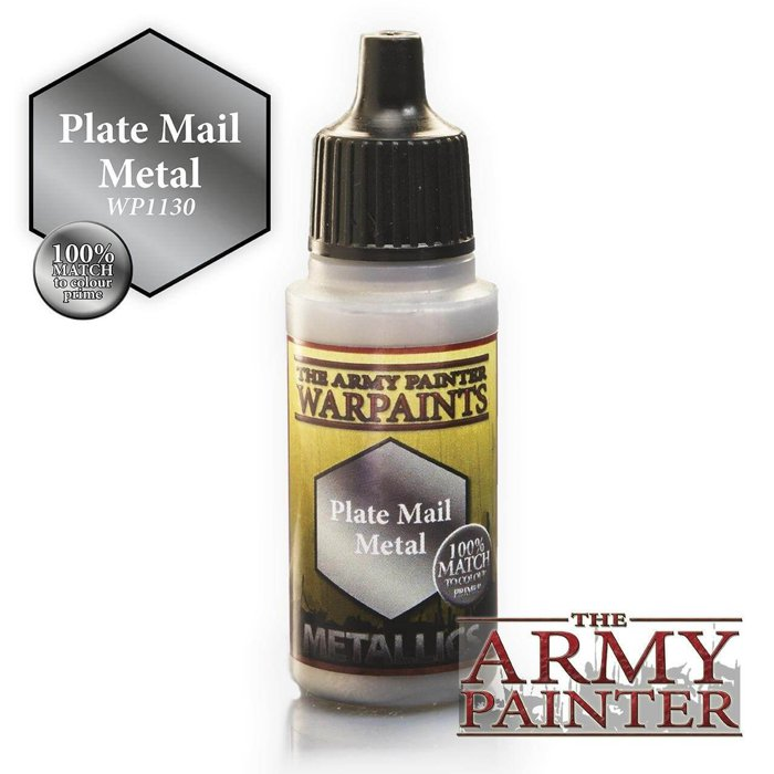 Copertina di Warpaints - Plate Mail Metal (18ml)