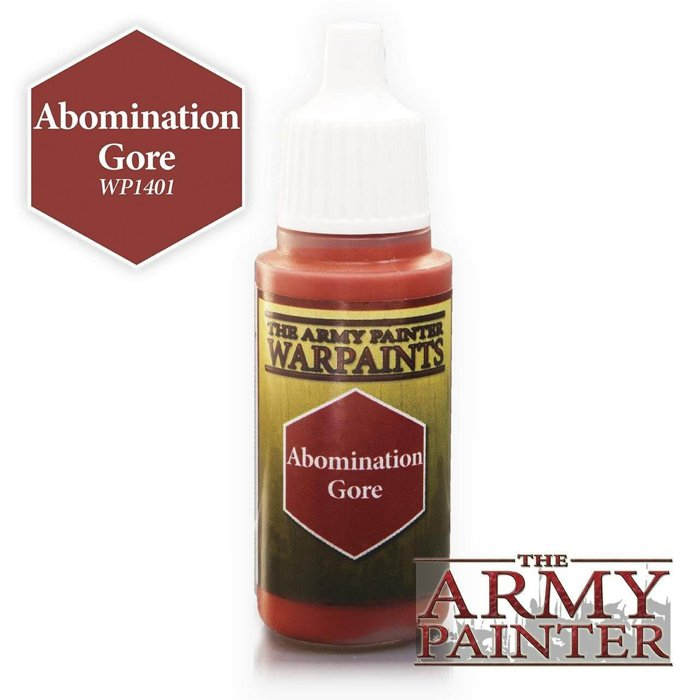 Copertina di Warpaints - Abomination Gore (18ml)