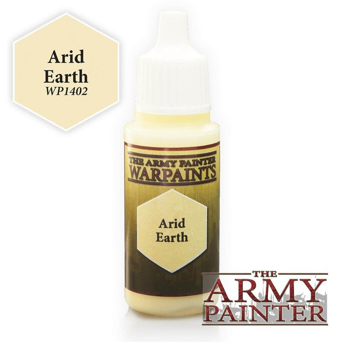 Copertina di Warpaints - Arid Earth (18ml)