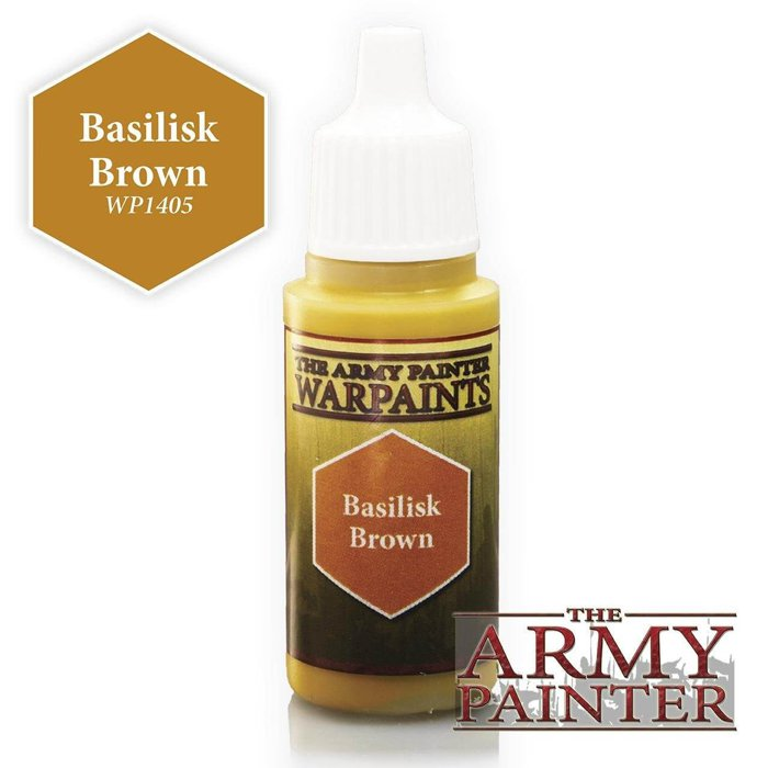 Copertina di Warpaints - Basilisk Brown (18ml)