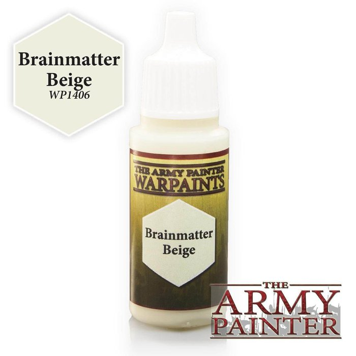 Copertina di Warpaints - Brainmatter Beige (18ml)