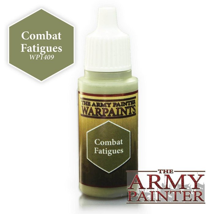 Copertina di Warpaints - Combat Fatigues (18ml)