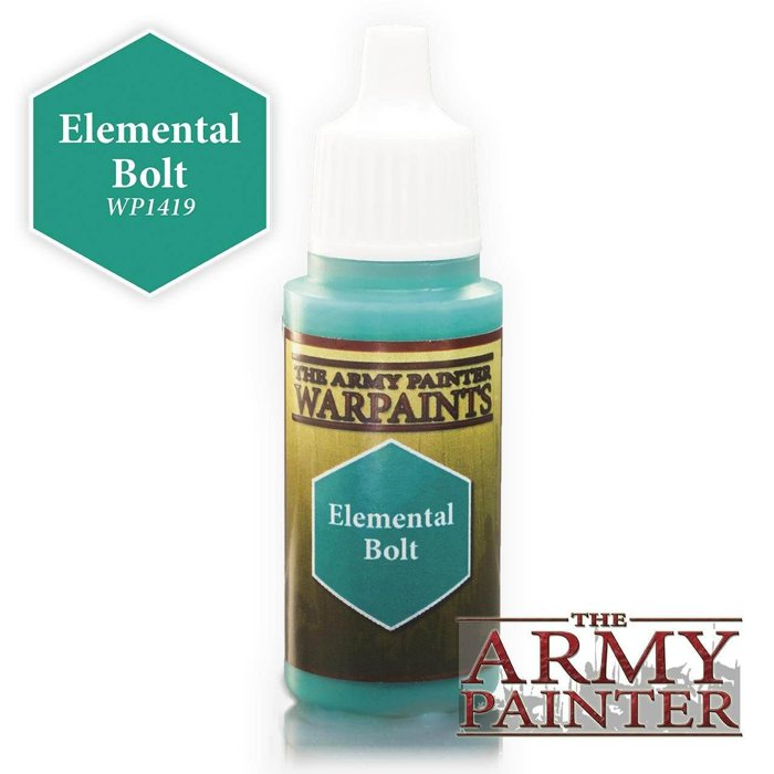 Copertina di Warpaints - Elemental Bolt (18ml)