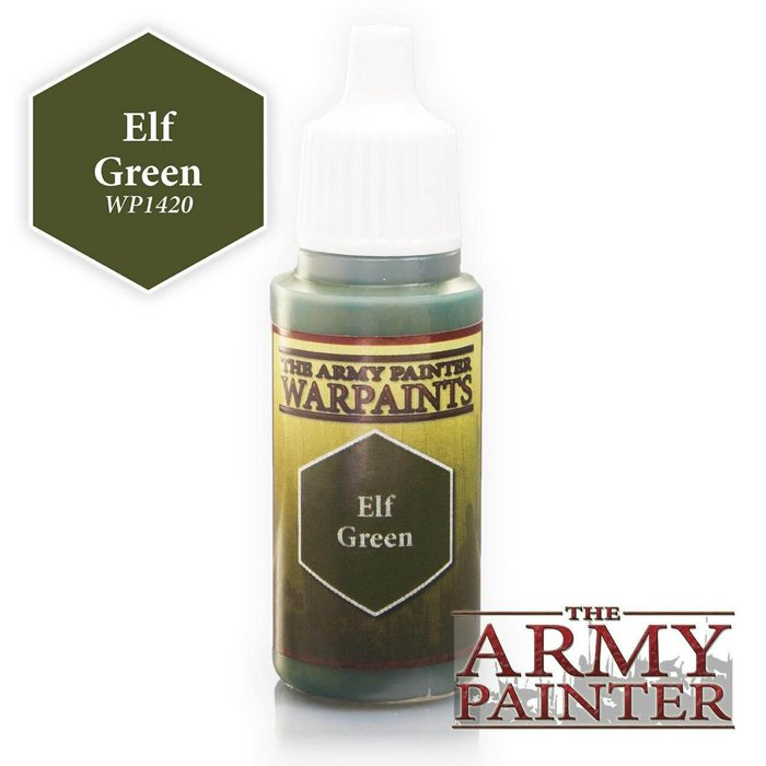 Copertina di Warpaints - Elf Green (18ml)