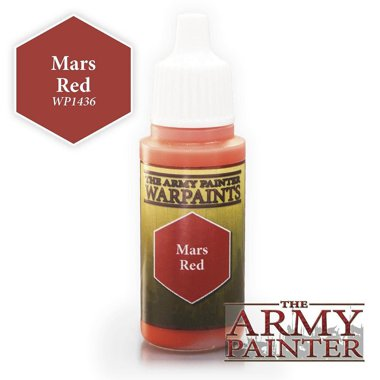 Copertina di Warpaints - Mars Red (18ml)