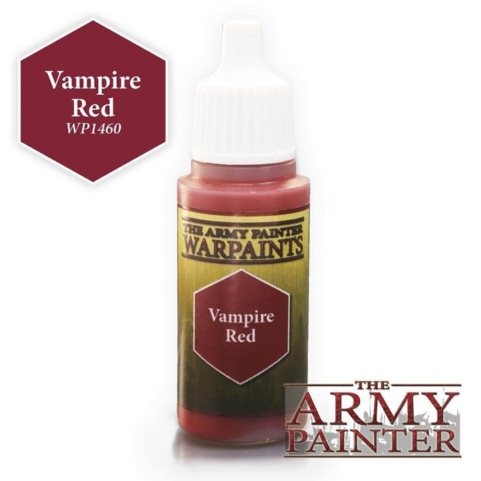 Copertina di Warpaints - Vampire Red (18ml)