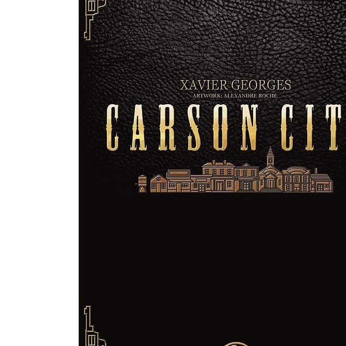 Copertina di Carson City: Big Box