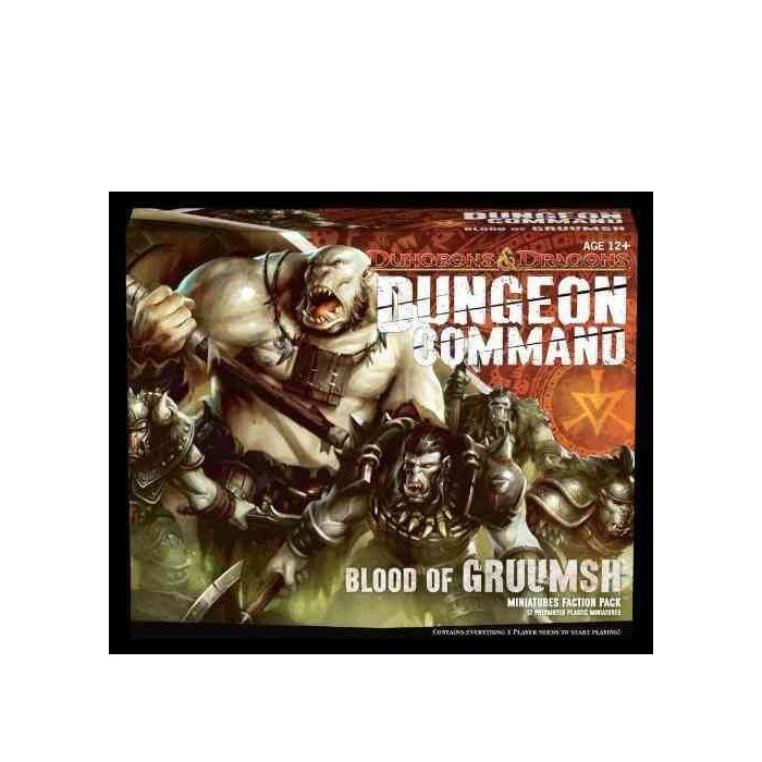 Copertina di Dungeon Command: Blood of Gruumsh