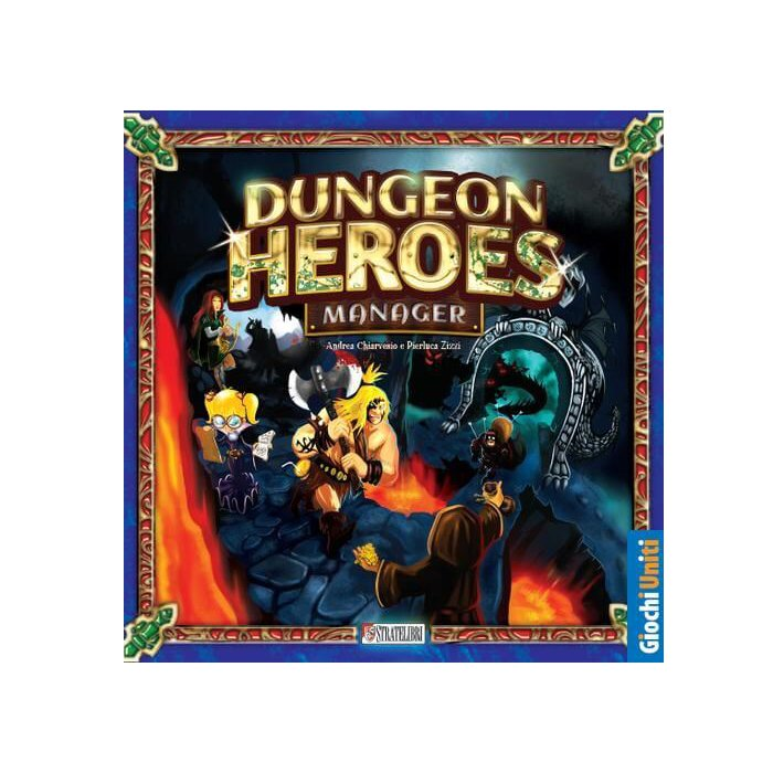 Copertina di Dungeon Heroes Manager
