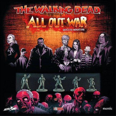 Copertina di The Walking Dead All Out War