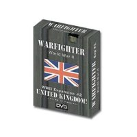 Warfighter: The WWII Tactical Combat Card Game - United Kingdom -1