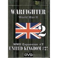 Warfighter: The WWII Tactical Combat Card Game - United Kingdom -2