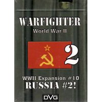 Warfighter: The WWII Tactical Combat Card Game - Russia -2