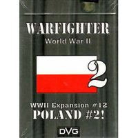 Warfighter: The WWII Tactical Combat Card Game - Poland -2