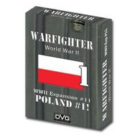 Warfighter: The WWII Tactical Combat Card Game - Poland -1