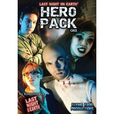 Copertina di Last Night on Earth: Hero Pack 1