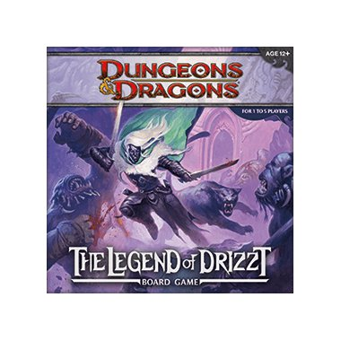 Copertina di Dungeons & Dragons: The Legend of Drizzt