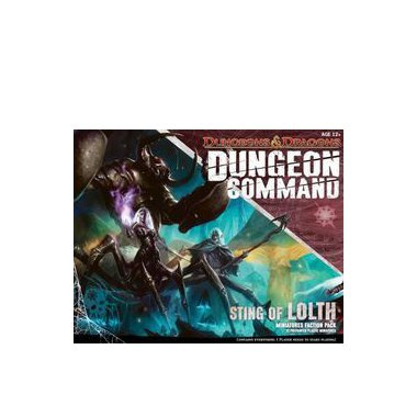 Copertina di Dungeon Command: Sting of Lolth